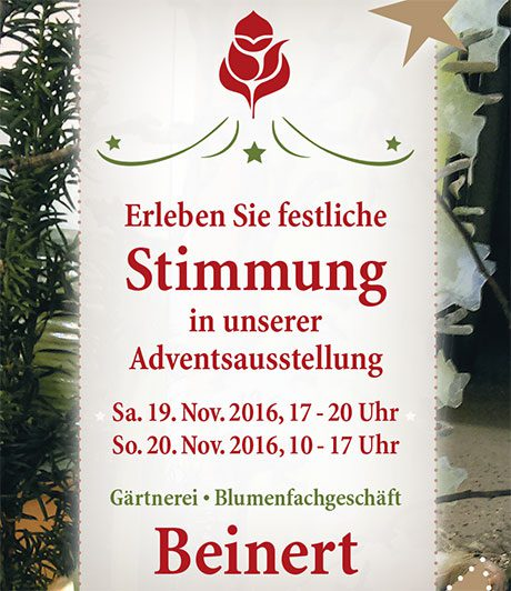 Adventsausstellung 2016